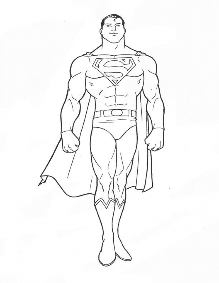 Online Superman Coloring Pages   47427