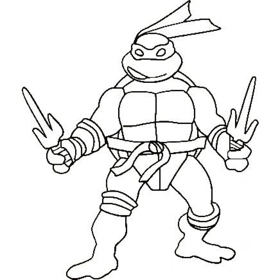 online coloring pages ninja turtles - photo#13