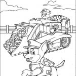 Paw Patrol Coloring Pages for Preschoolers   16382