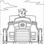 Paw Patrol Coloring Pages for Preschoolers   63810