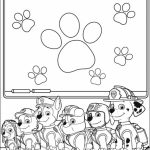 Paw Patrol Coloring Pages Free Printable   89047