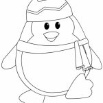 Penguin Coloring Pages for Preschoolers   67593