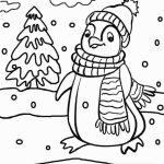 Penguin Coloring Pages for Preschoolers   89401