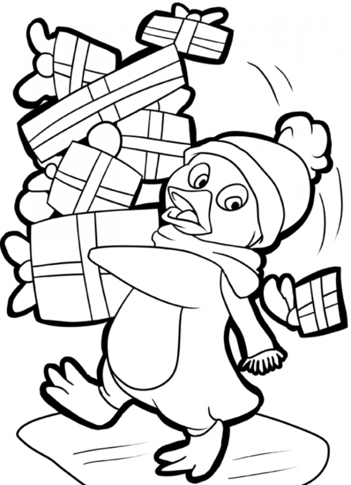 Get This Penguin Coloring Pages Free To Print 74172