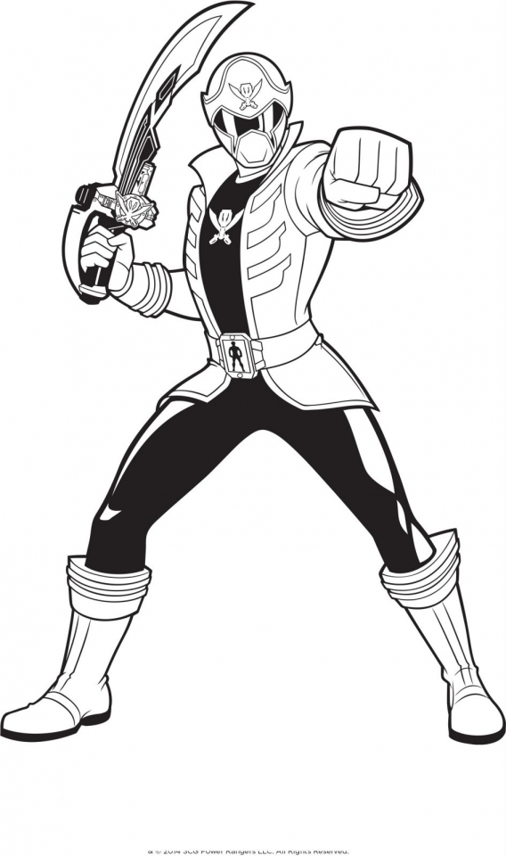 Power Rangers Megaforce Coloring Pages Printable   48042