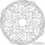 Printable Abstract Coloring Pages Online   15287