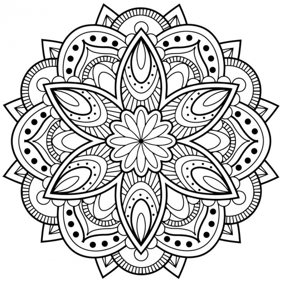 Get This Printable Abstract Coloring