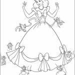 Printable Cinderella Coloring Pages   16530