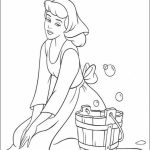 Printable Cinderella Disney Princess Coloring Pages for Girls   46176