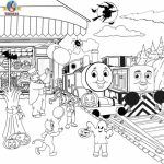 Printable Coloring Pages of Thomas the Train   18967