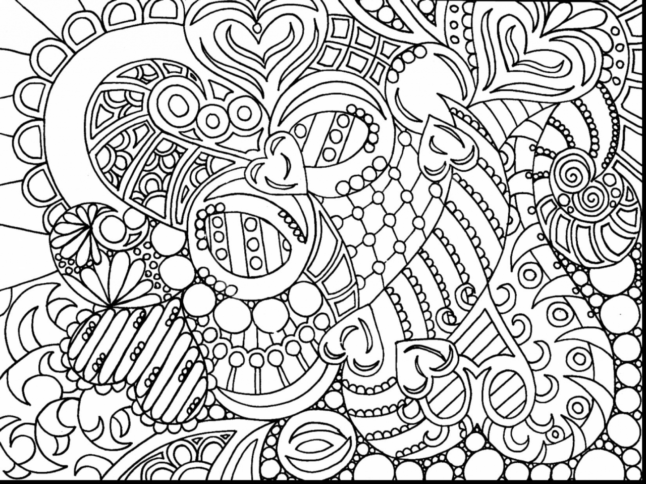 Printable Difficult Coloring Pages for Adults   46271