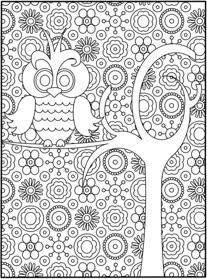 Printable Difficult Coloring Pages Online   93361