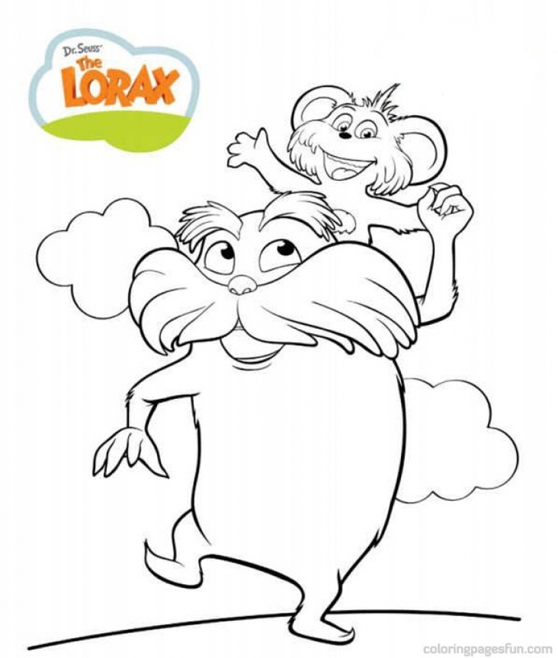 Printable Dr Seuss Coloring Pages   18010