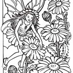Printable Fairy Coloring Pages   74003