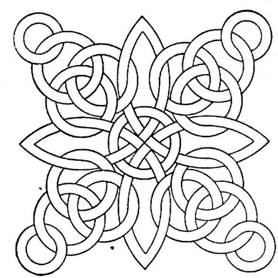 Get this printable geometric coloring pages online 72652 for Geometric coloring pages online