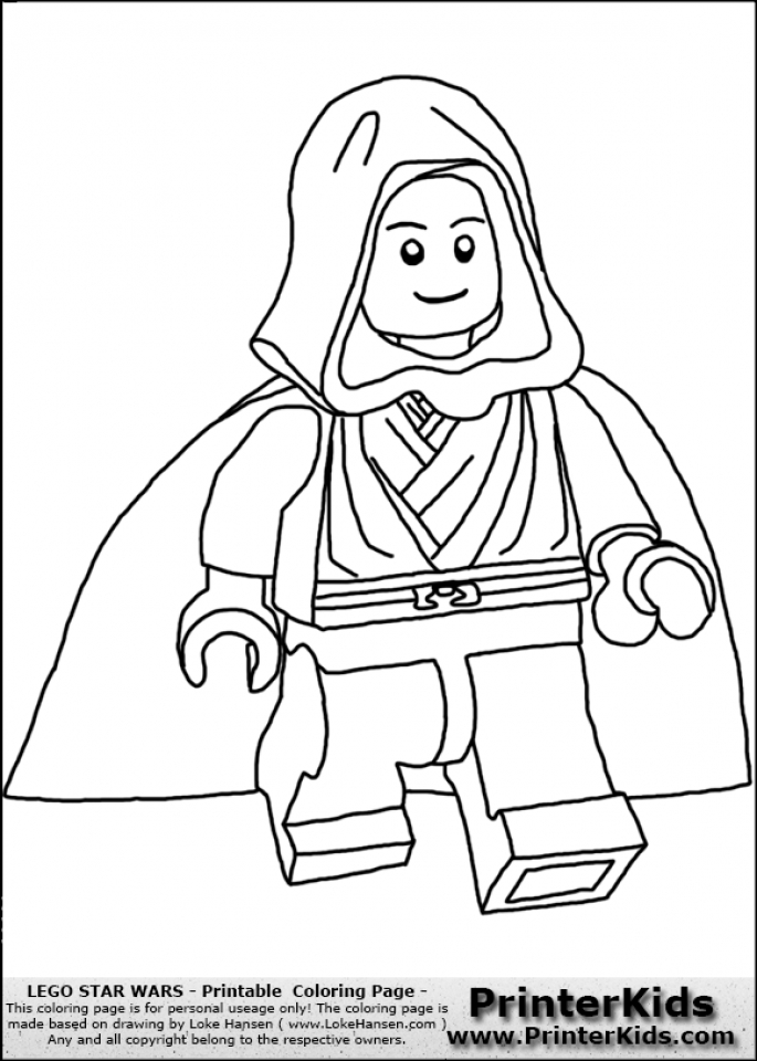 Get This Printable Lego Star Wars Coloring Pages Online 12905