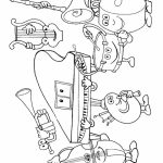 Printable Music Coloring Pages for Kindergarten   32806