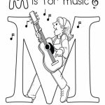 Printable Music Coloring Pages for Kindergarten   42707