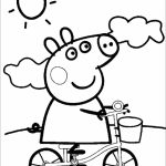 Printable Peppa Pig Coloring Pages   16528