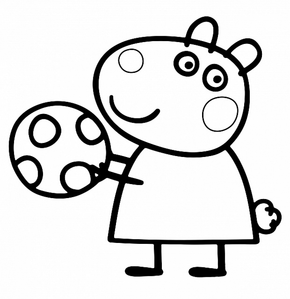 Printable Peppa Pig Coloring Pages   74000