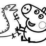 Printable Peppa Pig Coloring Pages Online   34669
