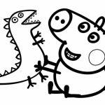 Printable Peppa Pig Coloring Pages Online   34669