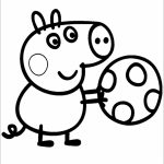 Printable Peppa Pig Coloring Pages Online   63956