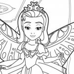 Printable Sofia the First Coloring Pages   85565