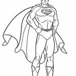 Printable Superman Coloring Pages Online   28878