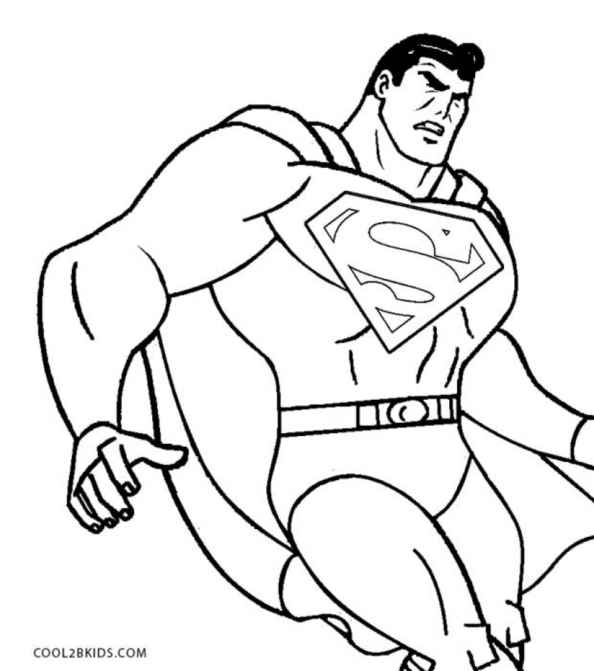 printable superman coloring pages online 63957