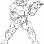 Printable Teenage Mutant Ninja Turtles Coloring Pages Online   36050