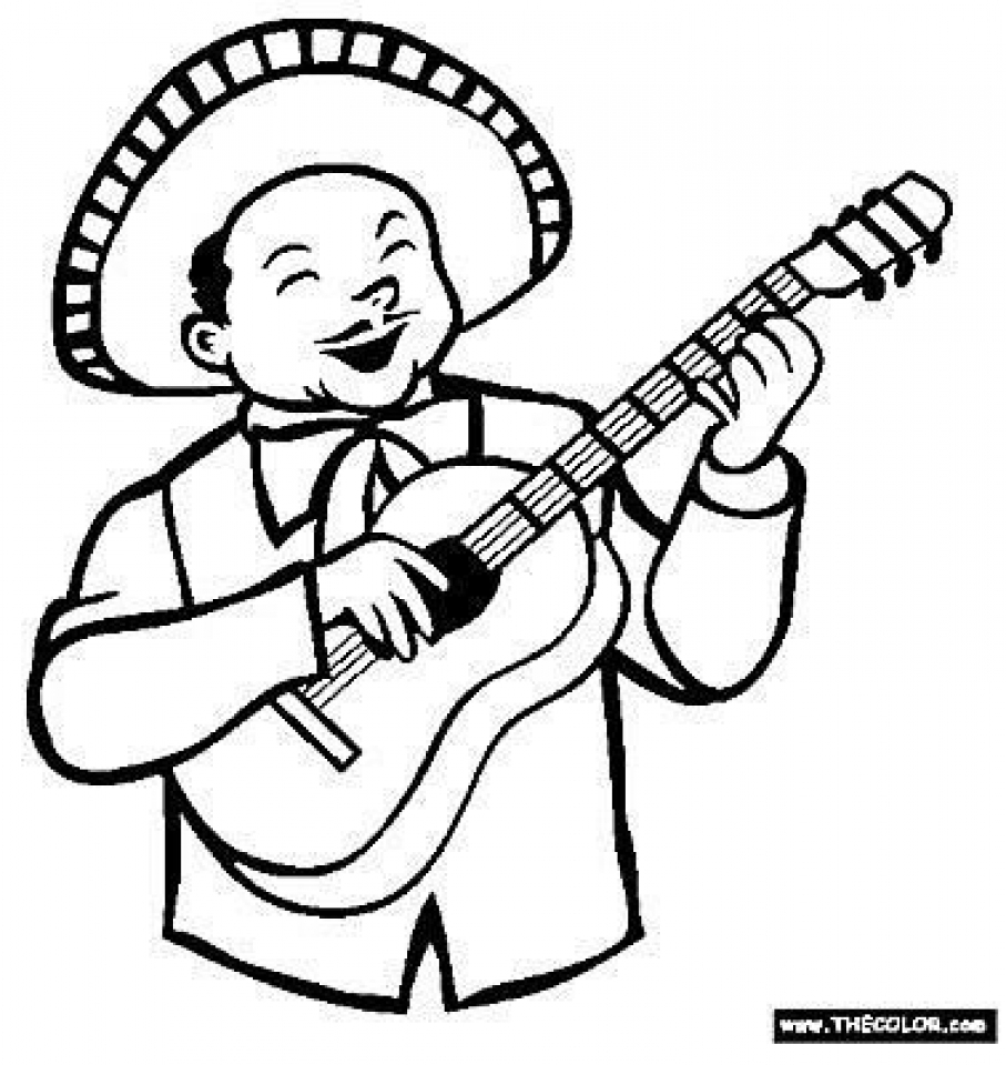 Get This Printables For Toddlers Cinco De Mayo Coloring