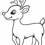 Reindeer Coloring Pages for Kids   63710