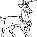 Reindeer Coloring Pages for Kids   94521