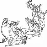 Reindeer Coloring Pages Free for Kids   9847