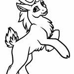 Reindeer Coloring Pages Online   54671