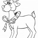 Reindeer Coloring Pages Online   56271