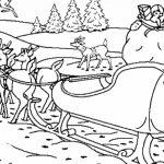 Reindeer Coloring Pages Online   78452