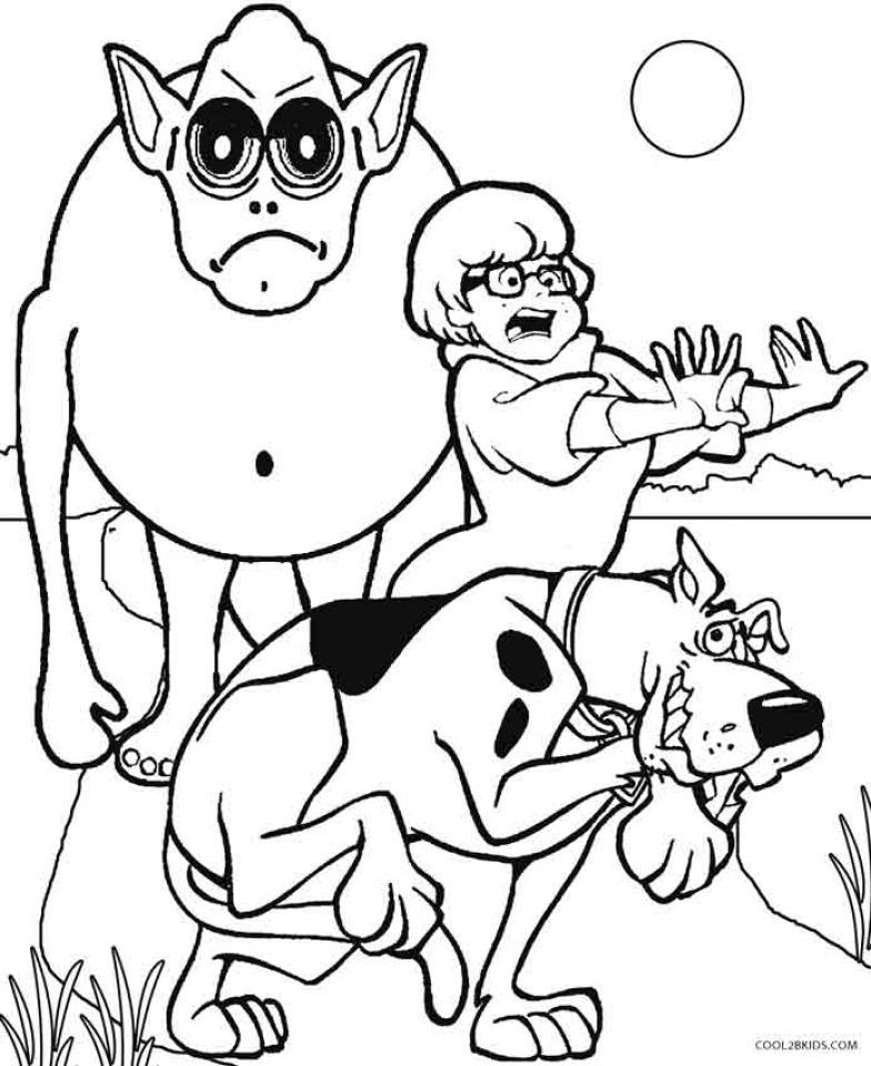 Scooby Doo Coloring Pages to Print   41896