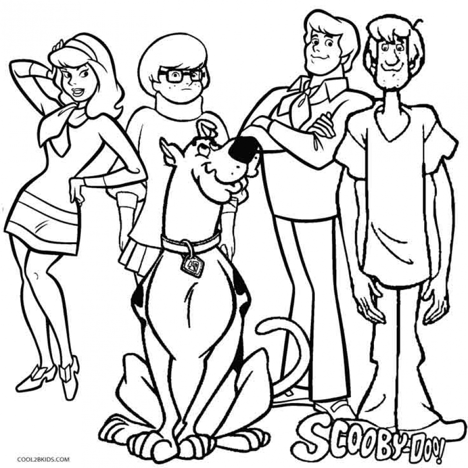 Scooby Doo Coloring Pictures   57831