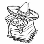 Simple Cinco de Mayo Coloring Pages to Print for Preschoolers   78504