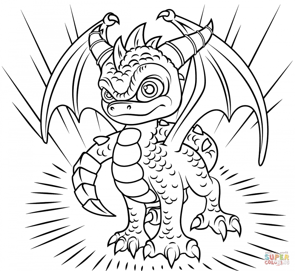 Skylanders coloring pages for boys ~ Get This Skylander Coloring Pages for Boys and Girls 41784
