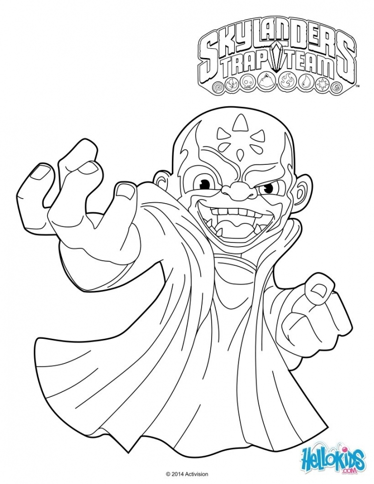 Skylander Coloring Pages for Boys and Girls   68563