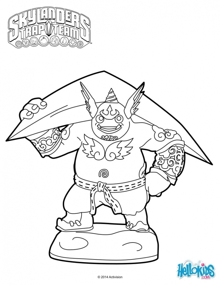 Skylander Coloring Pages for Boys and Girls   73517