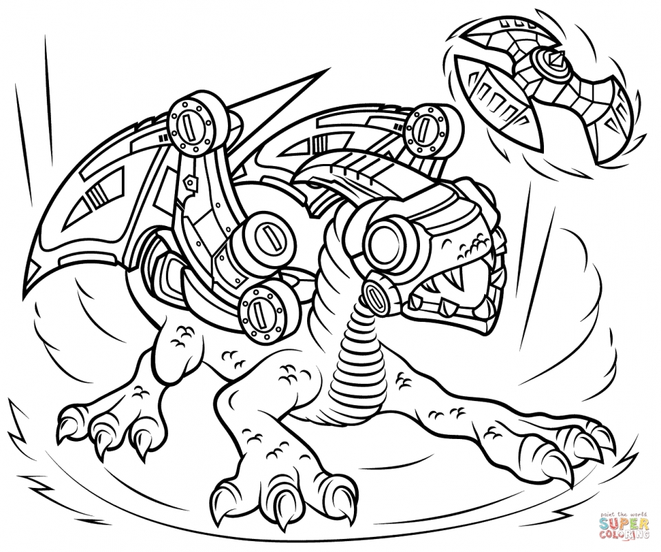 Skylander Coloring Pages Printable for Kids   69582