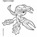 Skylander Coloring Pages to Print   06905