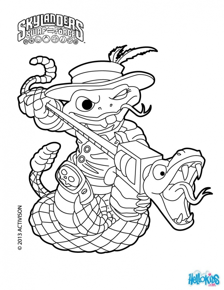 Skylander Coloring Pages to Print   17462