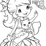 Strawberry Shortcake Coloring Pages for Girls   14251