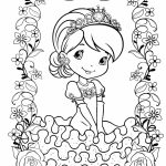 Strawberry Shortcake Coloring Pages Online   18518