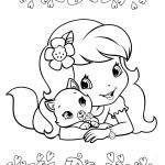 Strawberry Shortcake Coloring Pages Online   29620